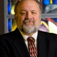 Dr. Gary Habermas, Distinguished Research Professor and Chair in the School of Religion's Department of Philosophy is photographed in Pate Chapel for the Liberty Journal on December 5, 2008. (Photo by Jerome Sturm)